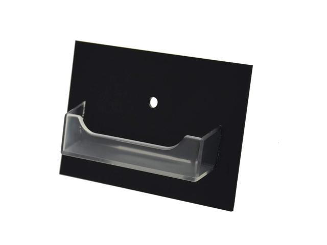 Clear Business Card Display Stand Holders Qty 2