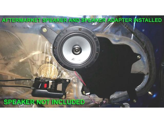 """1994-1998 Supra 6 1//2/"""" Front Door Speaker Adapter Spacer Rings SAK117/_55"""