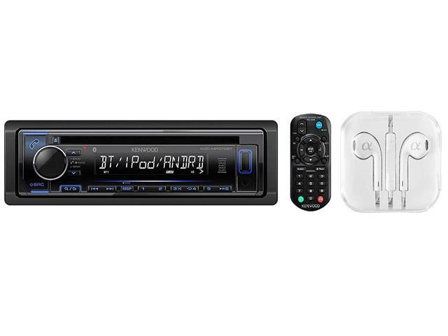 and a Remote Kenwood KDC-MP372BT CD Player w// built-in Bluetooth USB//AUX//MP3