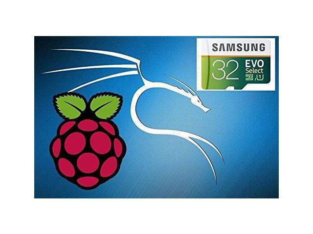 Kali Linux Full Install for Raspberry Pi 2 and 3 on a 32GB Micro SD Card -  Newegg com
