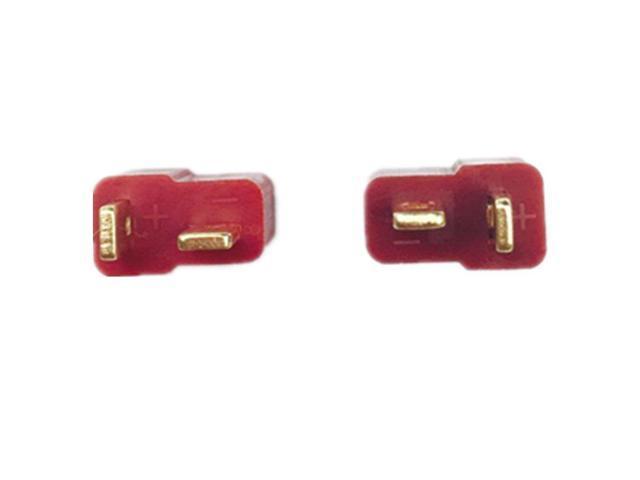 40Pcs Black Heat Shrink Tubing Compatible for RC Li-Po Battery Lsgoodcare 20Pcs Male /& 20Pcs Female Red T Plug Connectors Deans Style