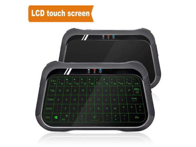 WeChip T18 Mini Backlight Keyboard Air Remote 2 4 GHz Wireless Mouse  Handheld Touchpad Controller for TV Box Mini PC PK I8 h18 H20 - Newegg com