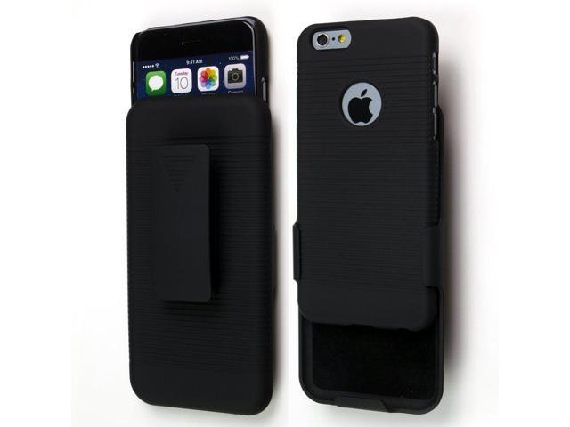 cheap for discount 47090 d0c2e Sean Hard Protective Armor Carrying Case with Swivel Belt Clip for Iphone 6  4.7 Inch + 1 Pcs S-smile Stylus (Black) - Newegg.com