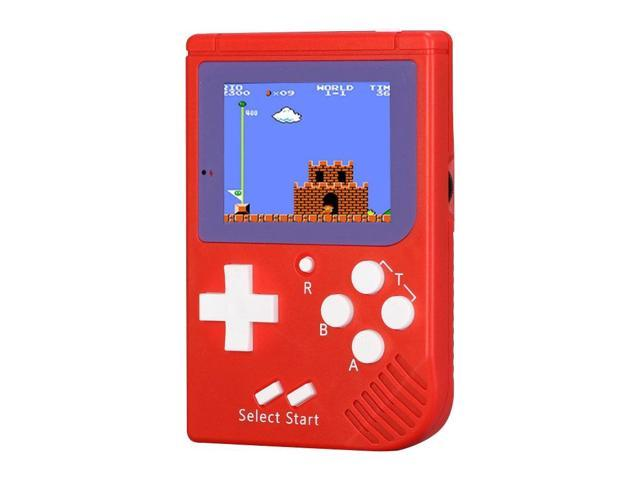 RS-6 Retro Mini Handheld Game Console, 2 5 inch 8 Bits Color 129 Games  Retro FC Game Player (Red) - Newegg com