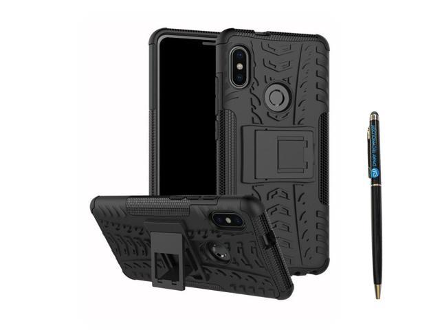 buy online 6d3b4 d7a9e Redmi Note 5 Pro Cover Hybrid DWaybox Rugged Heavy Duty Armor Hard Back  Cover Case with Kickstand for Xiaomi Redmi Note 5 Pro/Redmi Note 5 5.99  Inch ...