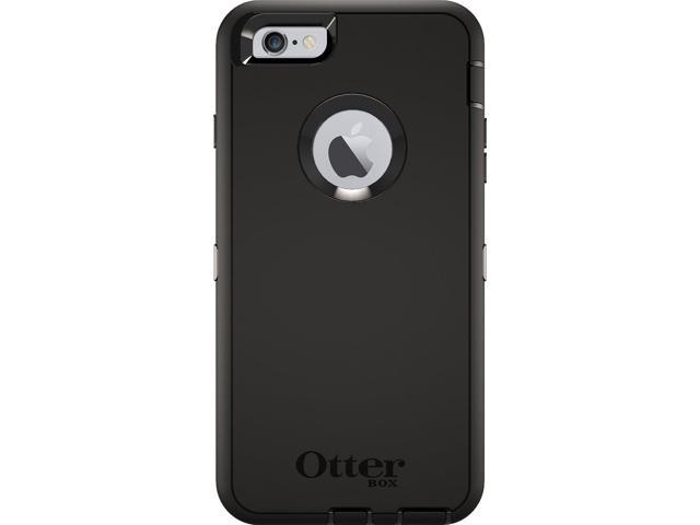 info for 96a62 b4030 OtterBox Defender Series Case for Apple iPhone 6 PLUS/6s PLUS (Case Only -  Holster Not Included) (BLACK) - Newegg.com