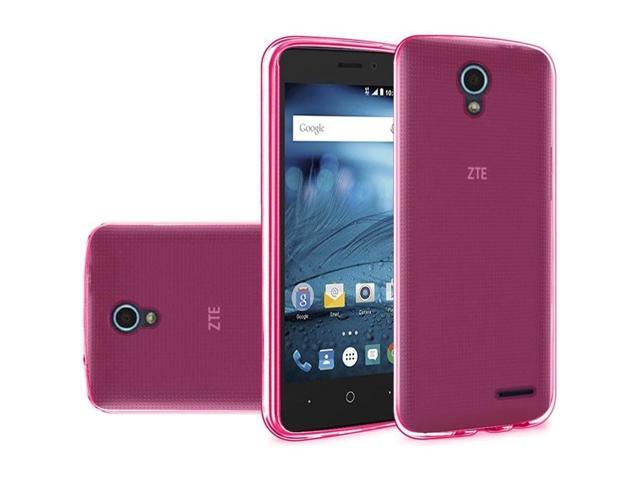 huge discount 6594e 29b2c FastSun TPU Flexi Gel Case Cover for ZTE Maven 2 Z831 / Sonata 3 Z832 /  Avid Plus Z828 (Pink) - Newegg.com
