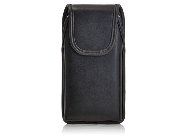 detailed look b8c44 0aa3c Turtleback Holster Made for Samsung Galaxy S5 V Active Black Vertical Belt  Case Leather Pouch with Executive Belt Clip Made in USA - Newegg.com