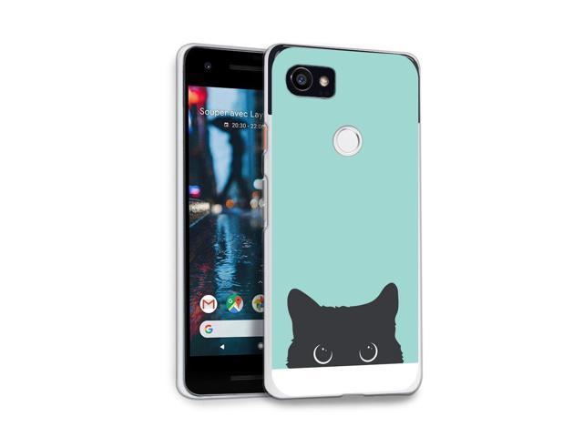 huge selection of 98388 6dda6 HelloGiftify Google Pixel 2 XL Case, Tiffany Blue&Cat TPU Soft Gel  Protective Case for Google Pixel 2 XL - Newegg.com
