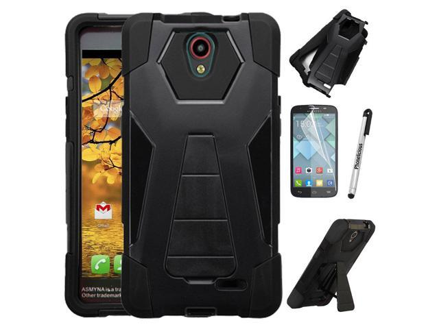 For Alcatel Raven Case, Phonelicious Shockproof [Military Drop Tested]  w/Kickstand [Heavy Duty Case] Impact Resistant Cover with Screen Protector  for