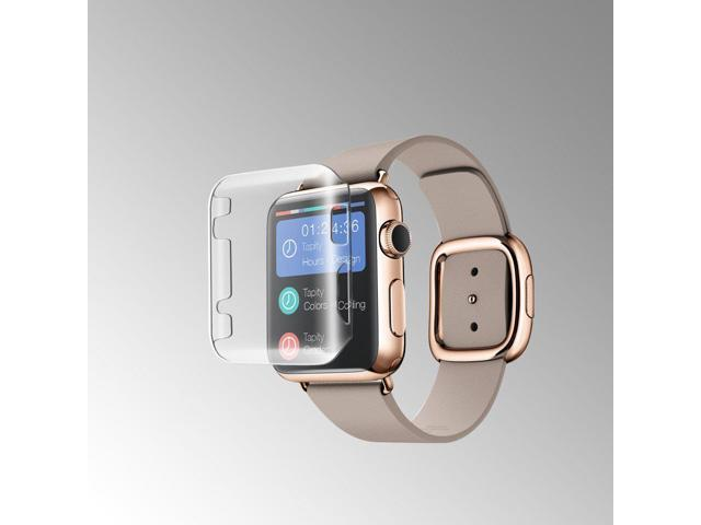 finest selection c22cf 8e5d0 MYBAT Apple Watch 42MM Slim & Thin Snap On Hard Protective Case Cover Clear  (Clear) - Newegg.com
