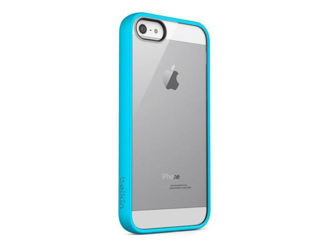online store db267 bbb35 Belkin View Case/Cover For New Apple iPhone 5 - Retail Packaging - Light  Blue - Newegg.com