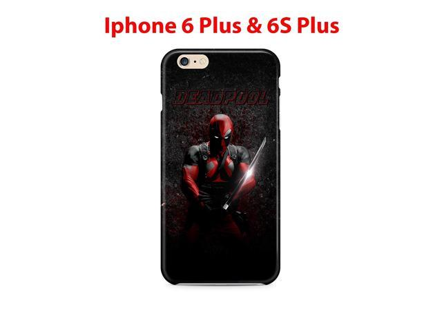 Deadpool (for Iphone 6 Plus / Iphone 6s Plus) 5.5in Hard Case Cover (dp1)