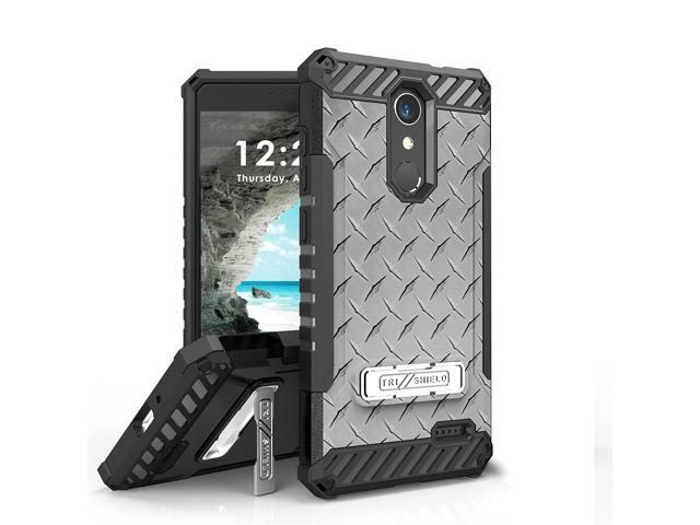 super popular f528a cef2b ZTE Grand X4, ZTE Blade Spark Case, Trishield Durable Rugged Armor Phone  Cover With Detachable Lanyard Loop And Built in Kickstand Card Slot -  Printed ...
