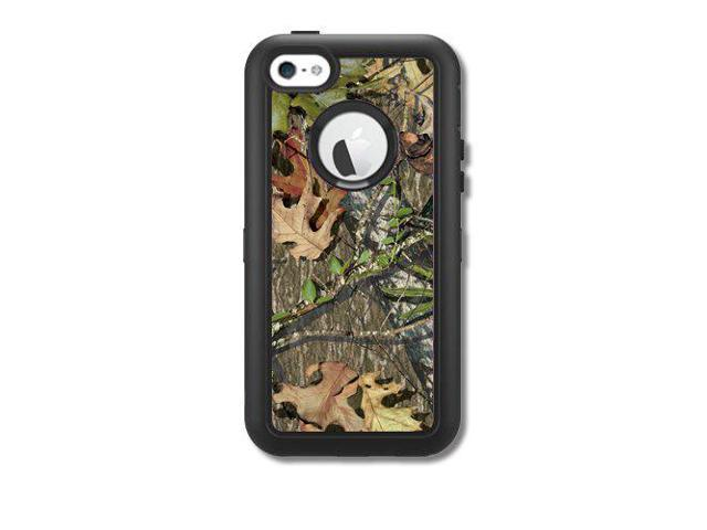 official photos d0bc5 71c85 Skins Kit for OtterBox Defender iPhone 5C Case (skins/decals only) - Camo  leaves and twigs cover - Newegg.com