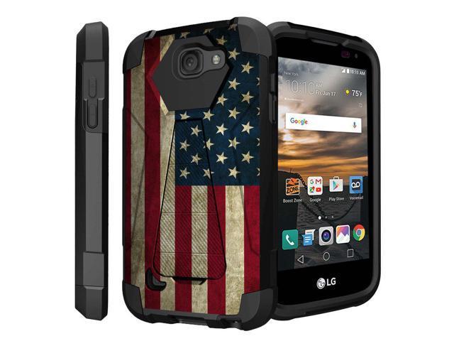 wholesale dealer 5253a 2779c Untouchble Case for LG K3, LG LS450 (Virgin Mobile, Boost Mobile)[Traveler  Series]- Dual Layer Hard Plastic Inner Silicone Stand Case - Vintage ...