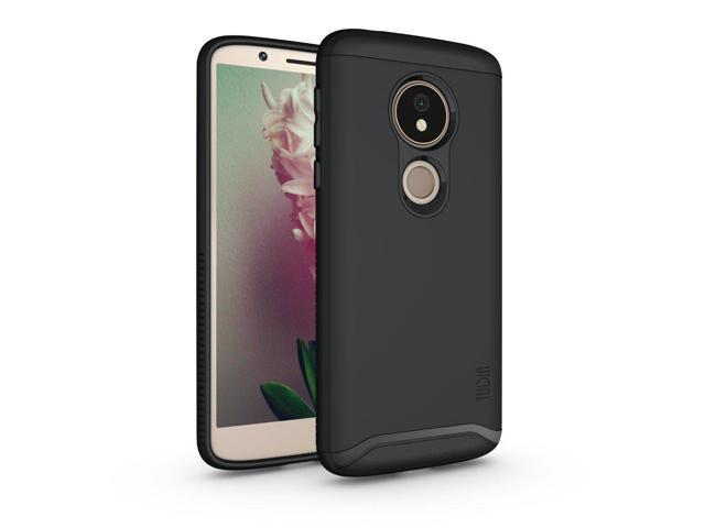pick up cb462 6d1fd Moto G6 Play Case, TUDIA Slim-Fit Heavy Duty [Merge] Extreme  Protection/Rugged but Slim Dual Layer Case for Motorola Moto G6 Play (Matte  Black) - ...