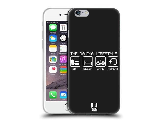 outlet store 6bba1 4d2c5 Head Case Designs The Lifestyle A Gamer's Life Soft Gel Case for iPhone 6 /  iPhone 6s - Newegg.com