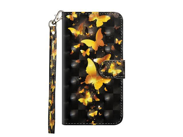 promo code 51be3 fb8b4 iPhone 8 Plus Case, iPhone 7 Plus - Case [Wrist Strap], MerKuyom  [Kickstand] PU Leather Wallet Pouch Flip Cover Case For Apple iPhone 7  Plus/iPhone 8 ...