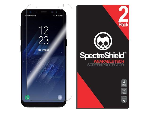 reputable site 6b7e9 d45df Spectre Shield for Samsung Galaxy S8 Plus Screen Protector (2-Pack)  Accessory Screen Protector for Samsung Galaxy S8 Plus Case Friendly Full  Coverage ...