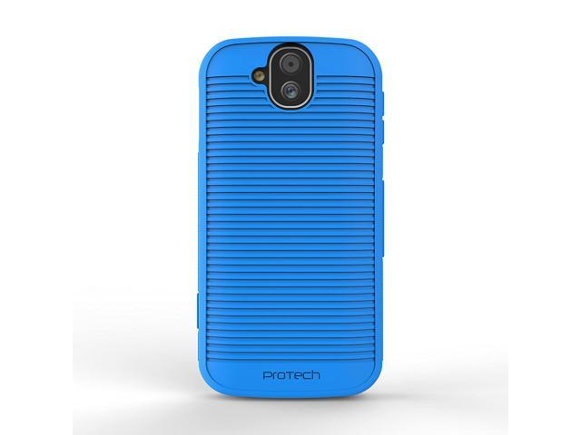Kyocera DuraForce Pro E6800 Flex Skin Gel Case with Slim Line Drop  Protection TPU material (Blue) - Newegg com