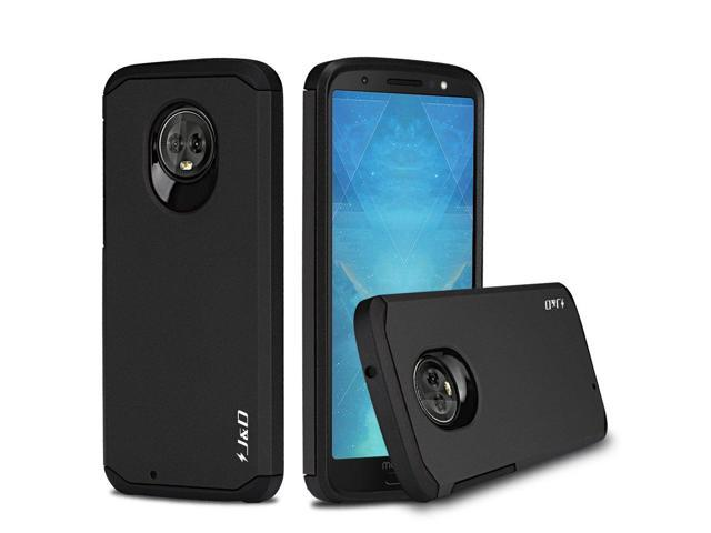 low priced 6da28 4198d J&D Case Compatible for Moto G6 Case, Heavy Duty [Dual Layer] Hybrid Shock  Proof Protective Rugged Bumper Case for Motorola Moto G6 Case – [Not for ...