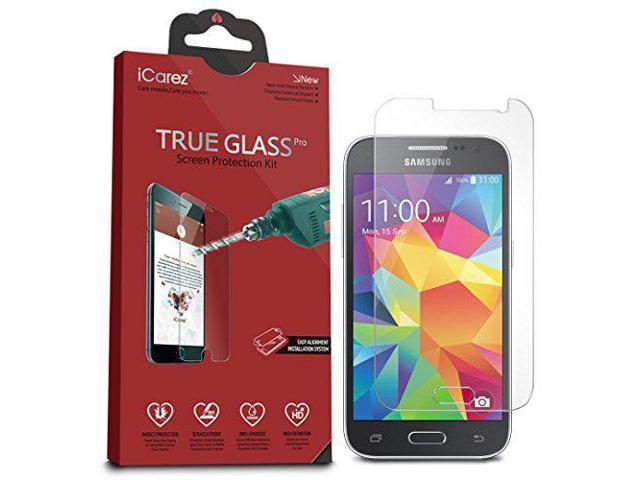 iCarez [Tempered Glass Screen Protector for Samsung Galaxy Core Prime Easy  Install with Lifetime Replacement Warranty - Retail Packaging - Newegg com