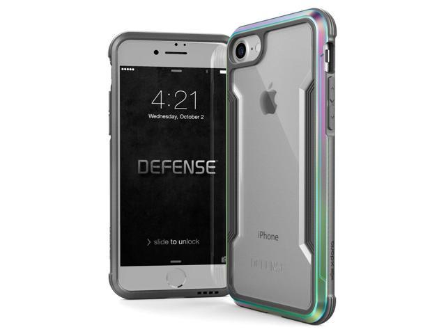 the latest c0e83 c25ab iPhone 8 & iPhone 7 Case, X-Doria Defense Shield Series - Military Grade  Drop Tested, Anodized Aluminum, TPU, and Polycarbonate Protective Case for  ...