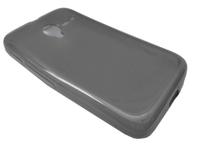 TPU Soft Crystal Skin Cover Phone Case For Alcatel Onetouch Pixi GLITZ  A463BG (Smoke) - Newegg com