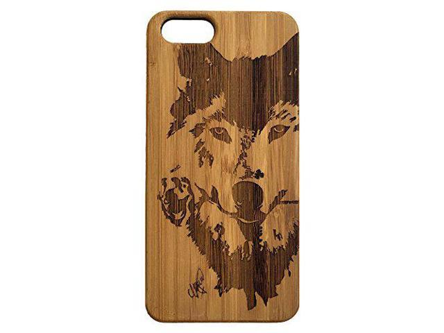 watch fa420 8cc57 Wolf Rose iPhone SE or iPhone 5 or 5S Case. Bamboo Wood Cell Phone Cover  Skin. Native American Spirit Animal Totem. iMakeTheCase Phone Case - ...