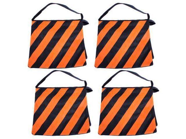 Southbaycamera Orange Saddlebag Sandbags 4 New Sand Bags Heavyduty Saddle Bag Holds 20lbs Weight For Photo Video Studio Stand Newegg