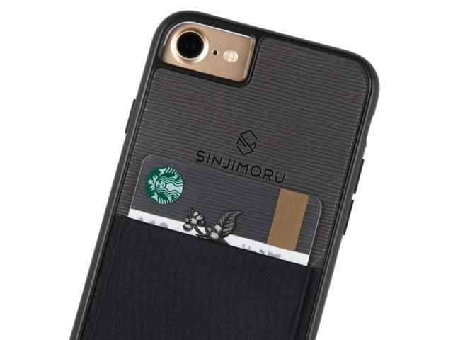 super popular f93a6 29fea Sinjimoru iPhone 7 case/iPhone 8 Case with Sinji Pouch Card Holder, Slim  Card Wallet case for Apple iPhone 7 (2016) / iPhone 8 (2017). Sinji Pouch  ...
