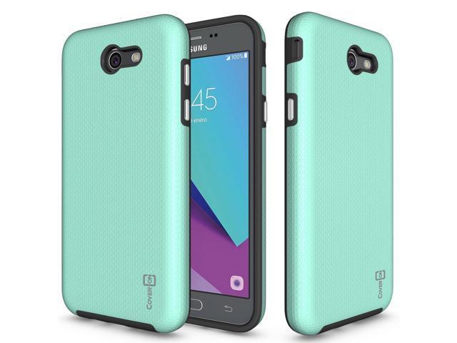 Galaxy J7 Prime Case, Galaxy J7 Sky Pro Case, Galaxy Halo Case, CoverON  [Rugged Series] Dual Layer Protective Hard Armor Cover Case for Samsung  Galaxy