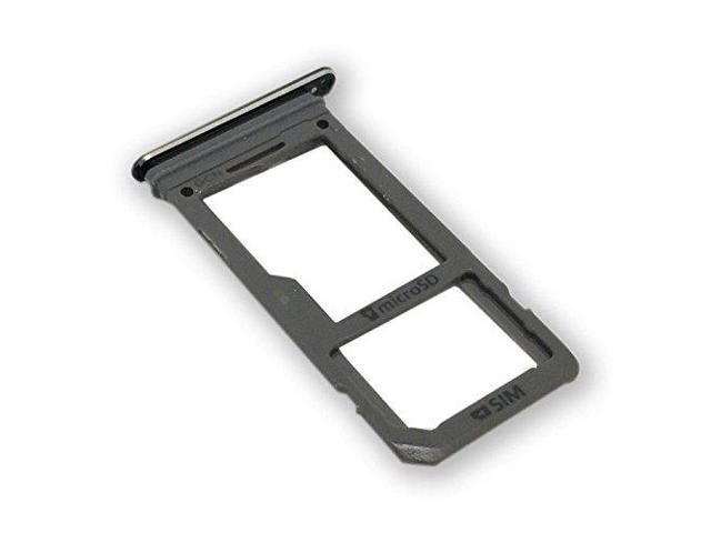 Samsung Galaxy S8 Sim Karte.Replacement Single Sim Card Micro Sd Card Holder Slot Tray For Samsung Galaxy S8 G950 Sm G950 Single Sim Black Newegg Com