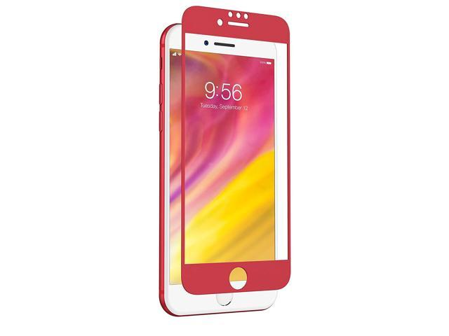 new product 9b95e d30df ZAGG InvisibleShield Glass + Luxe Screen Protector for iPhone 8 Plus/7  Plus/6s Plus/6 Plus - Red - Newegg.com