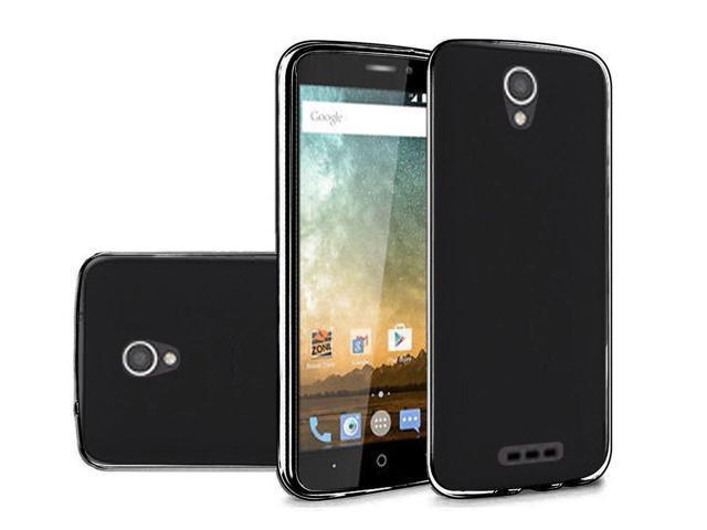 FastSun TPU Flexi Skin Gel Case Phone Cover for Alcatel Raven LTE A574BL  (Black) - Newegg com