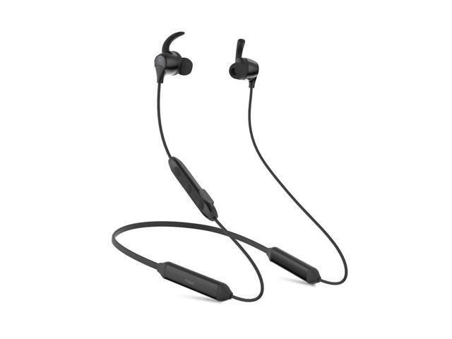 9a08b5fb520 iHaper NC1 Active Noise Cancelling Headphones, ANC Neckband Wireless Earbuds,  HiFi Stereo in-