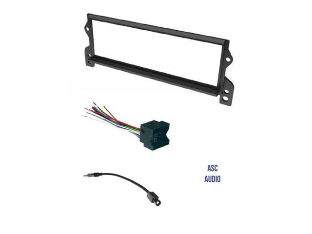 ASC Car Stereo Install Dash Kit, Wire Harness, and Antenna Adapter ... car stereo wire connectors Newegg.com