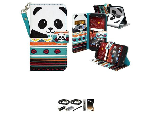 official photos e93aa e9beb ZTE Grand X4 Case, Mstechcorp - Flip Folio [Kickstand Feature] PU leather  wallet case with ID Credit Card Pockets for ZTE Grand X 4 - With  Accessories ...