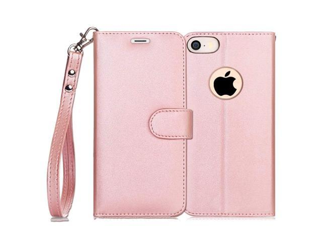 best website d36d0 b1d93 FYY Luxury PU Leather Wallet Case for iPhone SE/iPhone 5S/iPhone 5 Case,  [Kickstand Feature] Flip Folio Case Cover with [Card Slots] and [Note ...