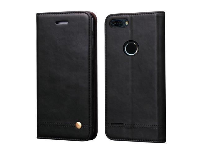 online store 4dbad 35665 ZTE Blade Z Max Case, ZTE ZMax Pro 2 Case, ZTE Sequoia Case,RUIHUI Luxury  Leather Wallet Folding Flip Protective Case Cover with Card Slots,Kickstand  ...
