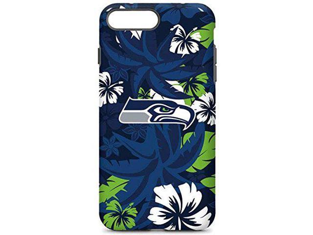 factory price 7aef1 7ebf0 Skinit NFL Seattle Seahawks iPhone 8 Plus Pro Case - Seattle Seahawks  Tropical Print Design - High Gloss, Scratch Resistant Phone Cover -  Newegg.com