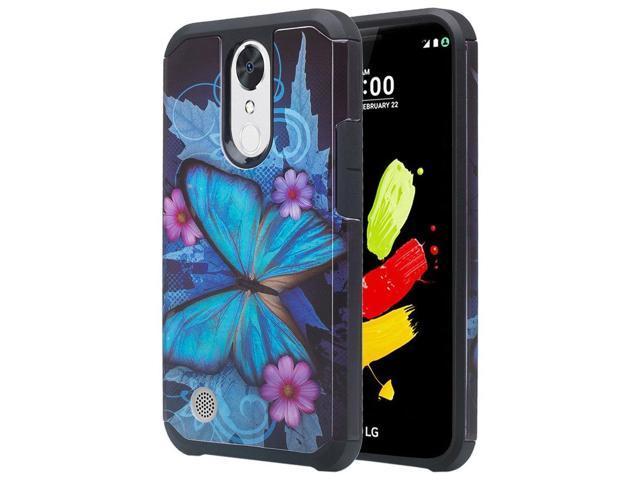 LG Rebel 3 LTE Case, LG Aristo Case, LG Phoenix 3 Case, LG Fortune Case, LG  Rebel 2 LTE Case, LG Risio 2 Case, LG K8 2017 Case Hybrid Dual Layer Armor