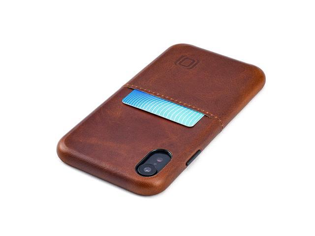 best website 47d68 afc2b Dockem Virtuosa M1 Genuine Leather Wallet Case for iPhone XR; Top Grain  Ultra Slim Card Case with Integrated Metal Plate for Magnetic Mounting; ...