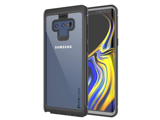 brand new 8d94e 440ba PunkCase Galaxy Note 9 Case, [Spartan Series] Clear Rugged Heavy Duty Cover  W/Built in Screen Protector | Ultra Slim 360 Full Body Protection ...