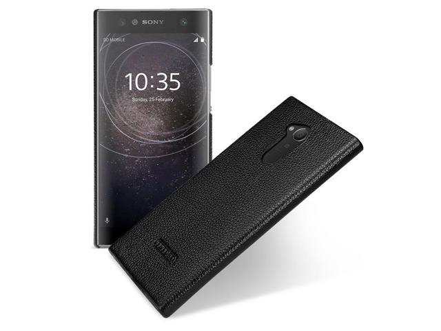 check out c9935 8adb2 TETDED Premium Leather Case for Sony Xperia XA2 Ultra H4213 H4233 Dual SIM,  Snap Cover (Black) - Newegg.com