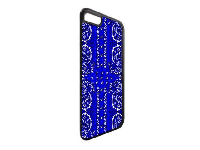 newest db2a3 8ac5a Blue Bandana Paisley Print - TM Apple iPhone 6, 6s Universal Black Plastic  Phone Case Made in the USA - Newegg.com