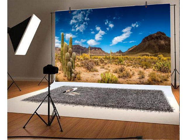 6x4ft Background Desert City Photography Backdrop Photo Banner Props LHFU278