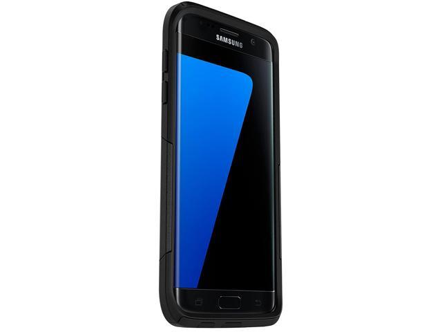 on sale 4d1e3 3417a OtterBox COMMUTER SERIES Case for Samsung Galaxy S7 Edge - Retail Packaging  - BLACK - Newegg.com