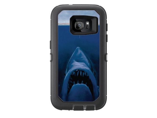 pretty nice 14c46 e6228 Skin Decal Vinyl Wrap for Otterbox Defender Samsung Galaxy S7 Case stickers  skins cover/ Great White shark Boat - Newegg.com